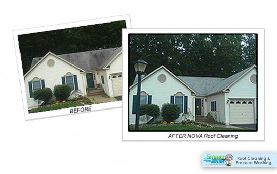 Before and After Photos - Northern Virginia Pressure Washing and Roof Cleaning